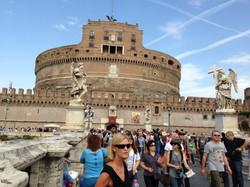 Hadrian's Tomb, Rome, Italy