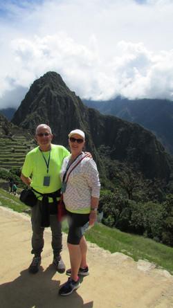 Nancy and Mark, Machu Picchu, Peru
