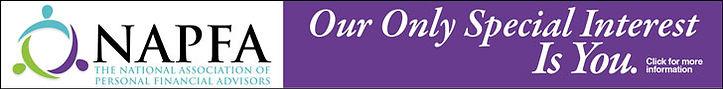 NAPFA fee only personal financial advisor