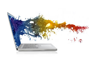 Colored liquid coming out of a laptop.jpg