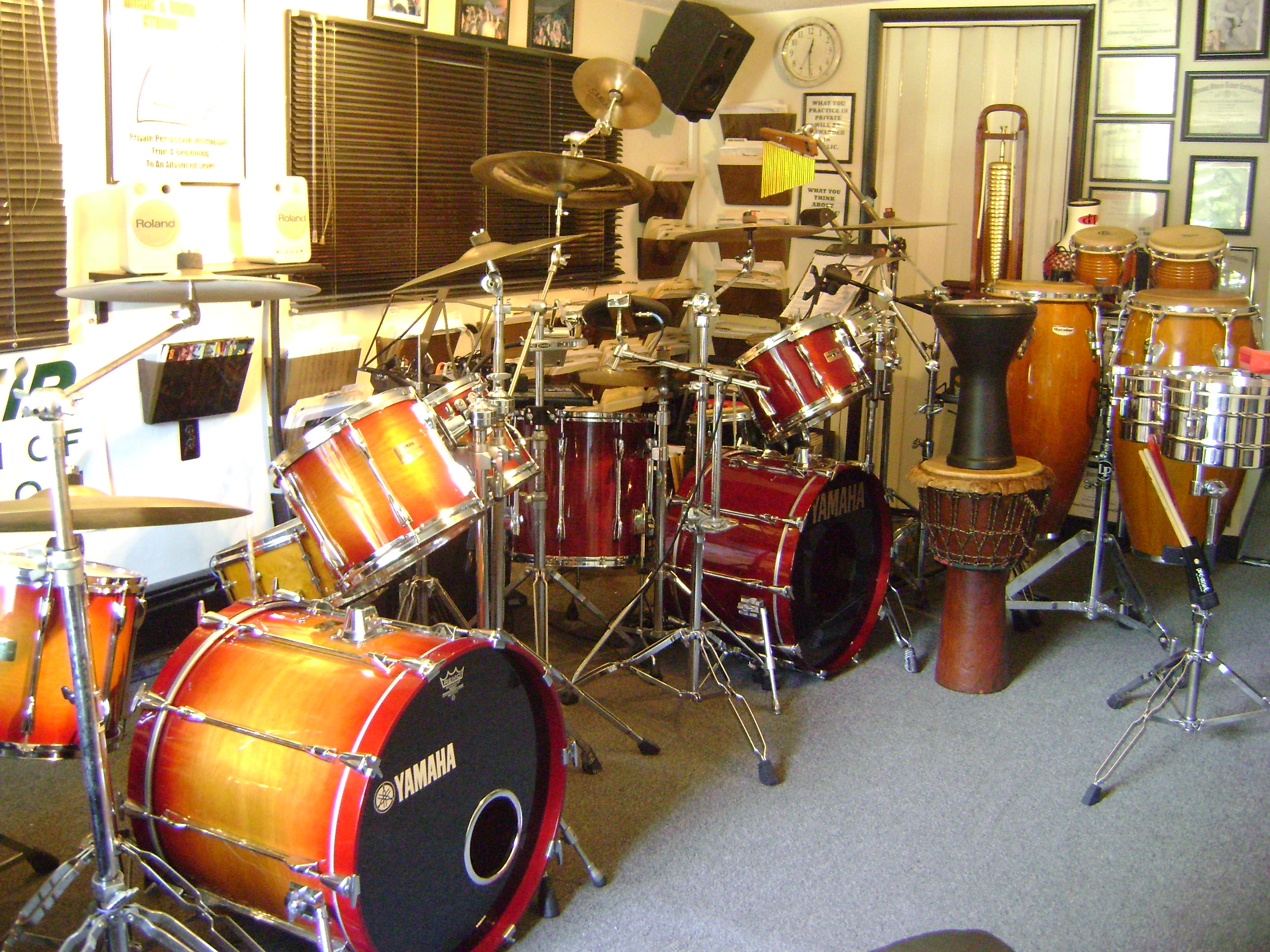 Callan Music and Drum Studio 1
