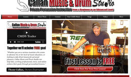 Callan Music & Drum Studio Personalize, private percussion lessons located in...