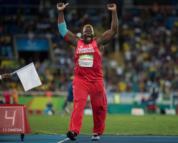 Akeem Stuart very happy with his result I Article Parasports World I Source: IPC