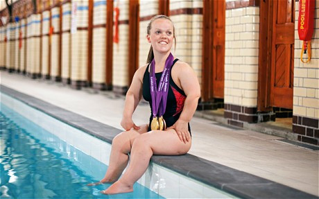 5 times Paralympic Gold Medalist Ellie Simmonds. Stay tuned. Parasports World provides parasports news, paralympic sports entertainment and disability sports community. Find great parasport and inspiring athletes from the Paralympic Games, the Invictus Games and parasport championships.