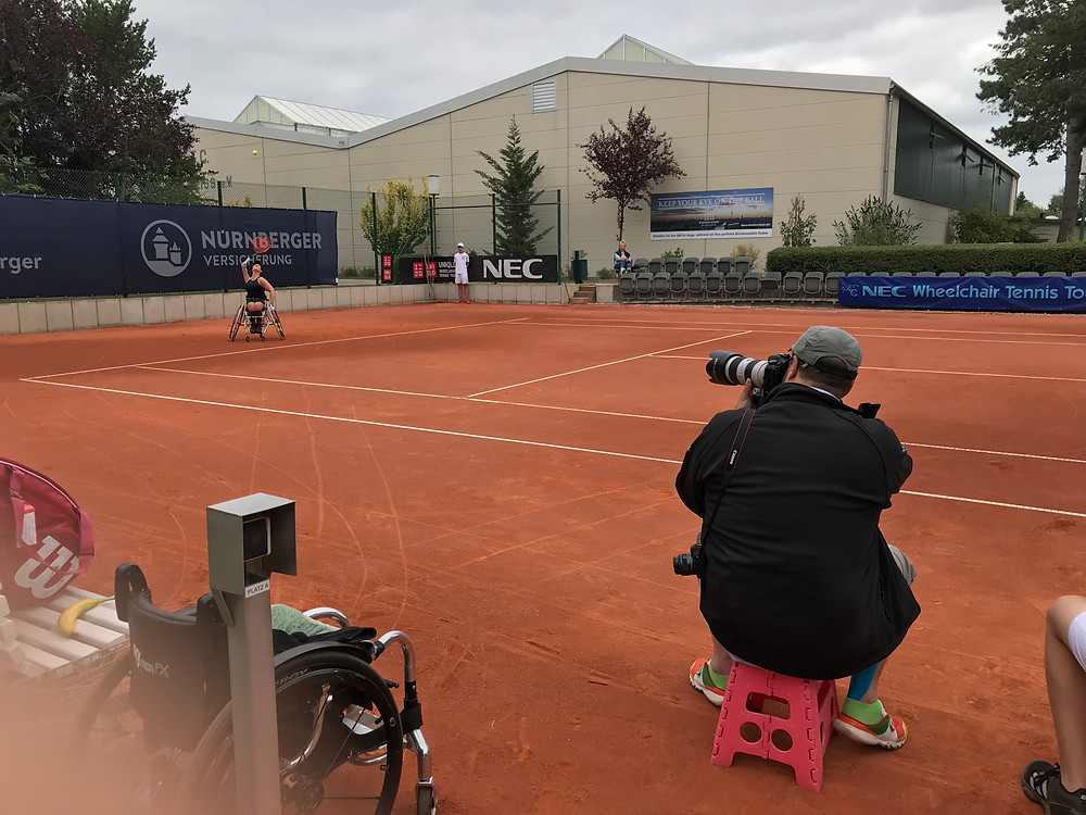 Wheelchair Tennis in the focus of the Grand Slam qualifications I Interview with Parasports World