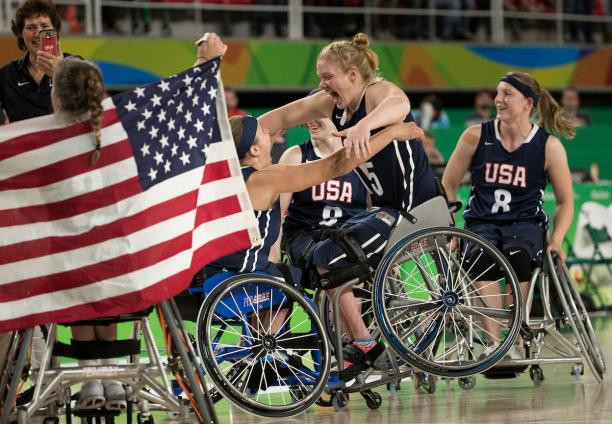 Wheelchair Basketball Team USA I Article Parasports World I Source: IPC