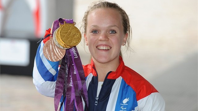 5 times Paralympic Gold Medalist Ellie Simmonds. Stay tuned: Parasports World provides parasports news, paralympic sports entertainment and disability sports community. Find great parasport and inspiring athletes from the Paralympic Games, the Invictus Games and parasport championships.