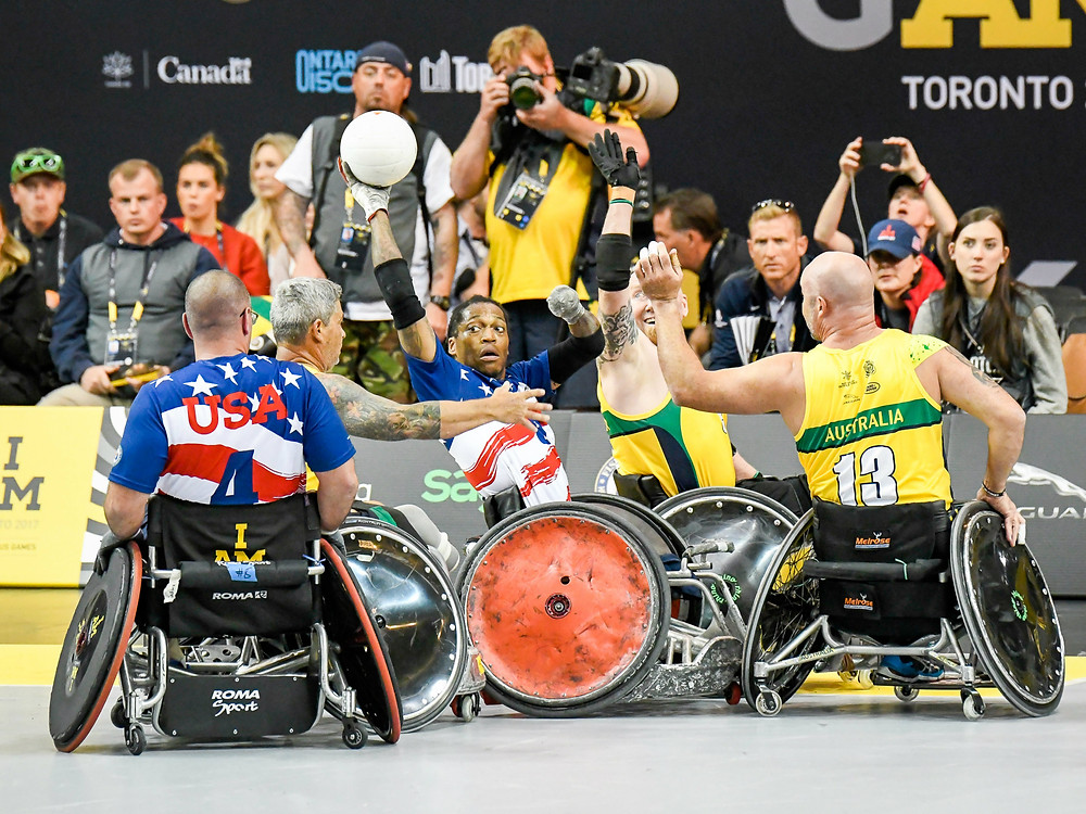 Wheelchair Rugby at the Invictus Games. Stay tuned: Parasports World provides parasports news, paralympic sports entertainment and disability sports community. Find great parasport and inspiring athletes from the Paralympic Games, the Invictus Games and parasport championships.