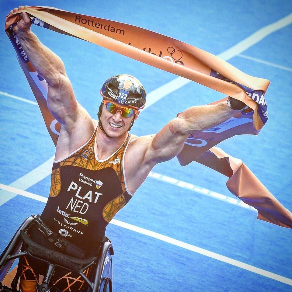 Paralympic Champion Jetze Plat I Paratriathlon - ParaAthletics