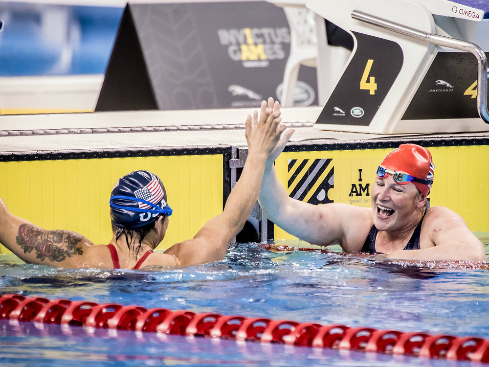 Para Swimming at the Invictus Games. Stay tuned: Parasports World provides parasports news, paralympic sports entertainment and disability sports community. Find great parasport and inspiring athletes from the Paralympic Games, the Invictus Games and parasport championships.