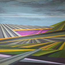 SOLD! - heart land - 4'x4'