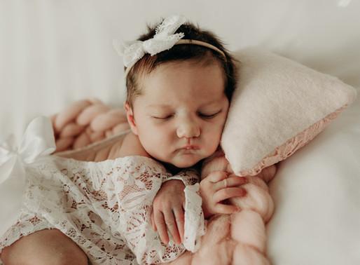 Newborn Session   Baby Emilia   Jupiter, FL