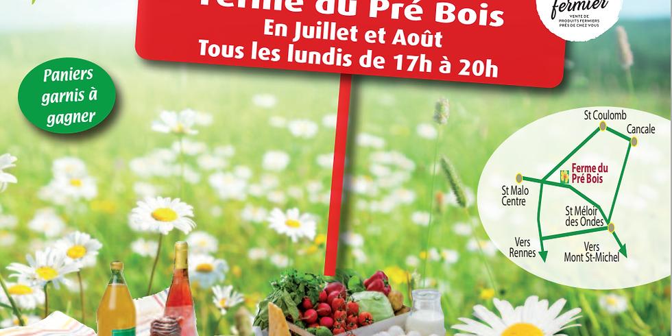 Marché d'été Bienvenue à la Ferme Saint-Malo (2)
