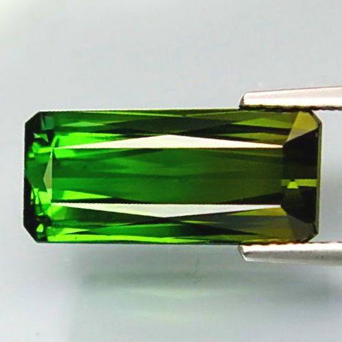 5.5 Cts Natural Bi-colour Green Tourmaline VS