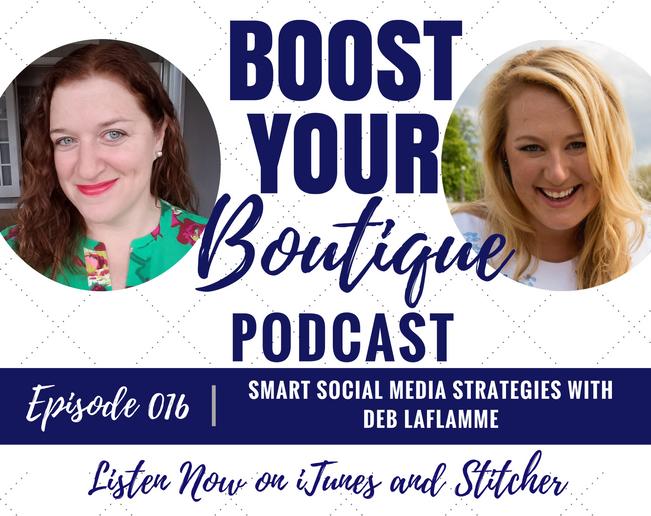 016: Smart Social Media Strategies with Deb LaFlamme