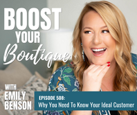 508: Why You Need to Know Your Ideal Customer