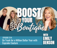 514: On Track for a Million Dollar Year with Cupcake Couture