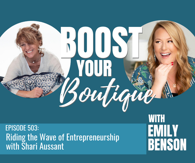 503: Riding the Wave of Entrepreneurship with Shari Aussant