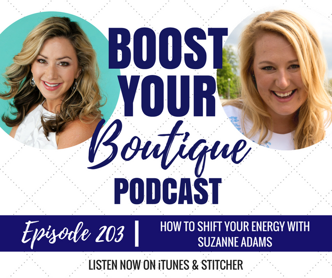 203: How To Shift Your Energy With Suzanne Adams