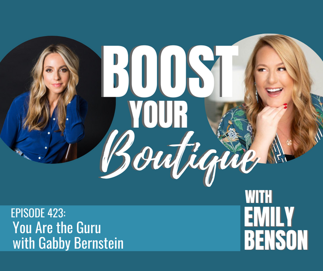 423: You Are The Guru with Gabby Bernstein