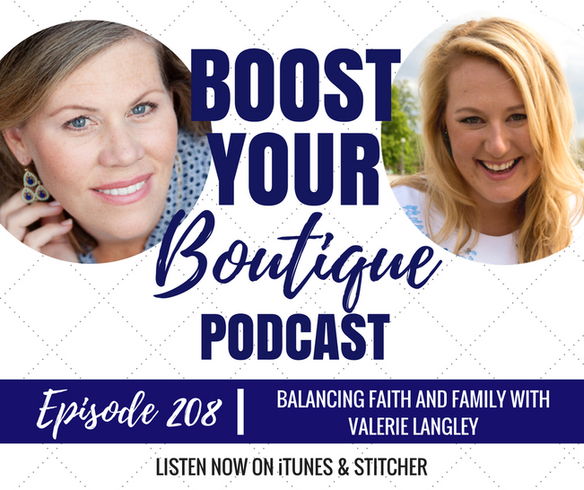 208: Balancing Faith And Family In Your Business With Valerie Langley