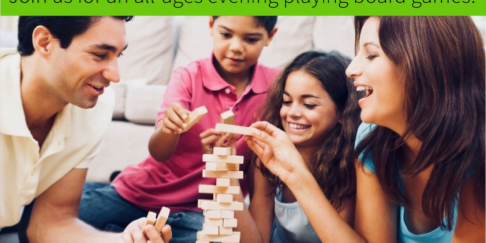 Family Nite: Games Nite!