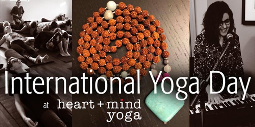 International Yoga Day Practice + Mala Making with Live Music