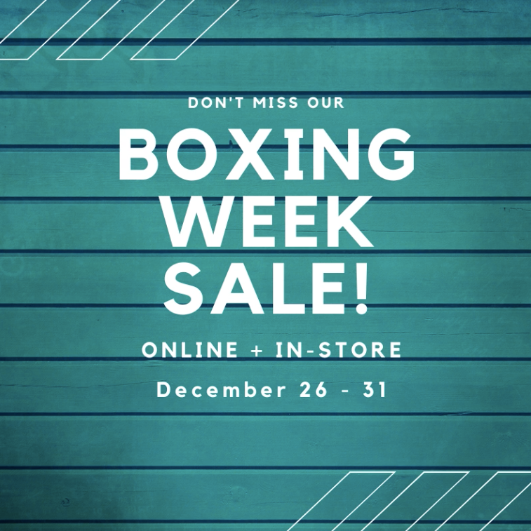 Boxing Week Sale!