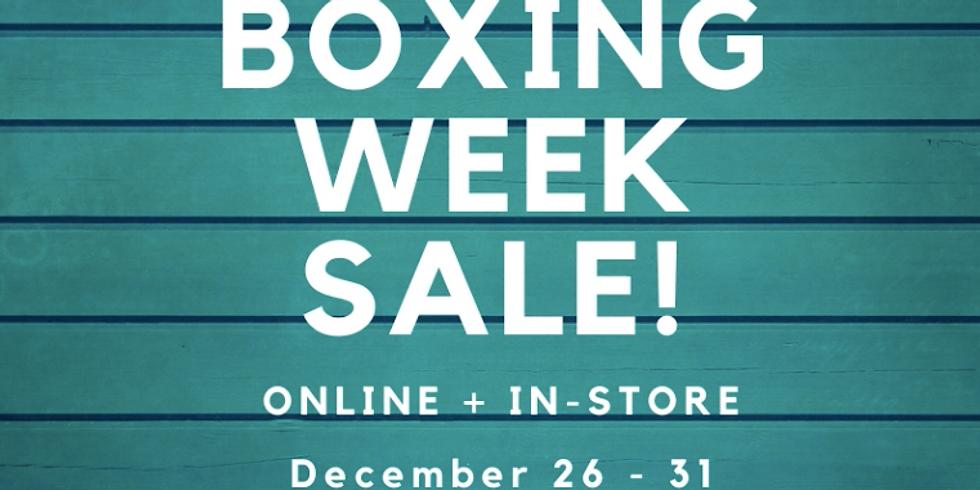 Boxing Week Sale!