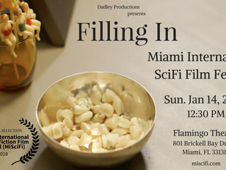 'Filling In' Premieres in Florida at the Miami International Sci-Fi Film Festival