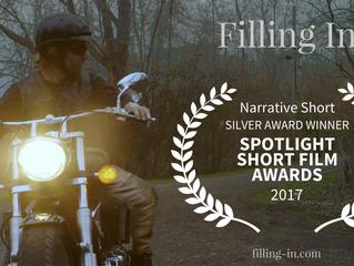 Spotlight Film Awards Honors 'Filling In'