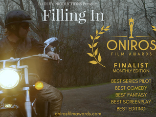 Italy's ONIROS FILM AWARDS Declares 'Filling In' A Finalist In Five Categories!