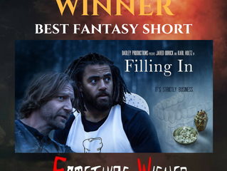 SOMETHING WICKED FILM FEST Honors 'Filling In'!