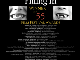 'Filling In' Ends 2017 with 55 Film Festival Awards