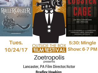 'Roller Coaster' Returns to Lancaster, PA for the Outside The Box Film Festival