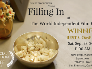 The World Independent Film Festival Declares 'Filling In' as Best Comedy Short!