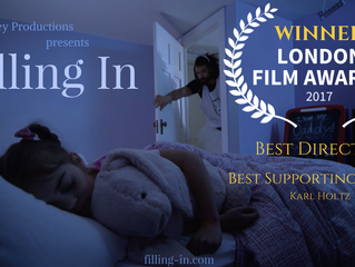 London Film Awards Honors 'Filling In' with Best Director and Best Supporting Actor