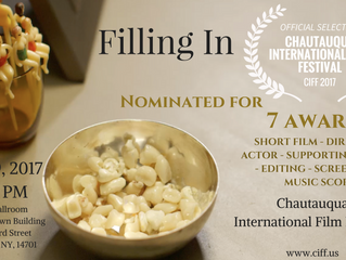 Jamestown, NY Welcomes 'Filling In' with SEVEN Nominations