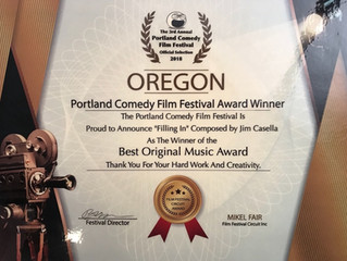 'Filling In' Takes Home Best Original Music Score at Portland Comedy Film Festival