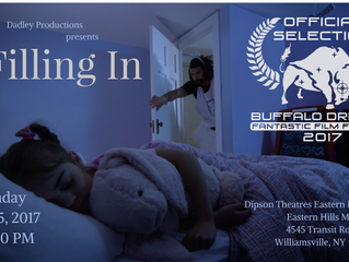 'Filling In' Selected for the Buffalo Dreams Fantastic Film Festival