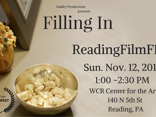 ReadingFilmFEST to Screen 'Filling  In'