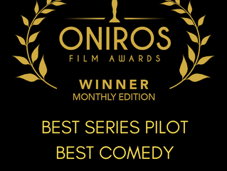 """Filling In' WINS Best Series Pilot and Best Comedy at Oniros Film Awards!"