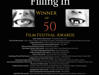'Filling In' Earns its 50th Film Award!