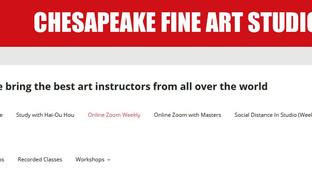 Chesapeake Fine Art Studio - Virtual Courses