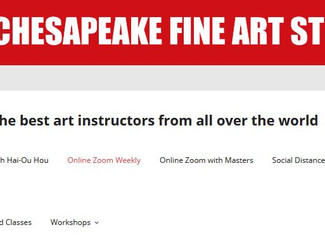 Chesapeake Fine Art Studio - Virtual Courses