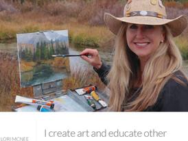 Lori McNee Fine Art Tips Blog