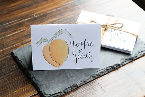 You're a Peach | Notecard Set