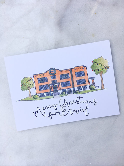 Merry Christmas from | Erwin