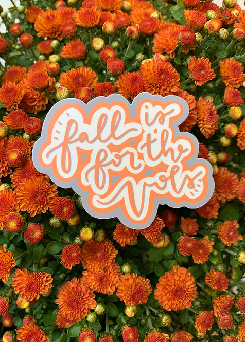 Fall is for the Vols | Sticker