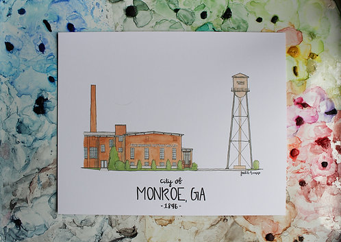 Monroe, GA | Cotton Mill